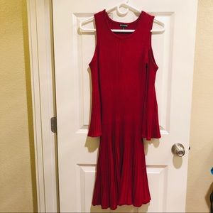 Guess Fit & Flare Sweater Dress